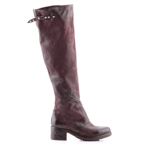 EGGPLANT TALL BOOT - SAMPLE SALE SIZE 37 - FINAL SALE
