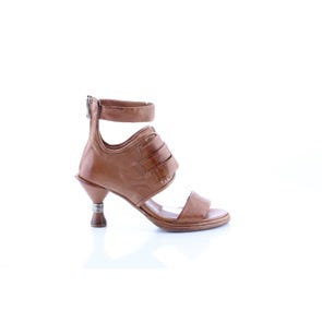 MULTI STRAP STATEMENT HEEL- SAMPLE SALE SIZE 37 - FINAL SALE