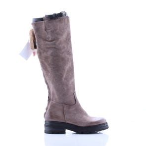 ROCK SQUARE TOE KNEE HIGH BOOT - SAMPLE SALE SIZE 37 - FINAL SALE