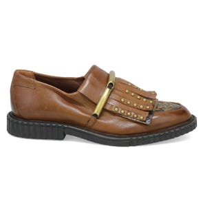 WHISKEY FRINGE FLAT - SAMPLE SALE SIZE 37 - FINAL SALE