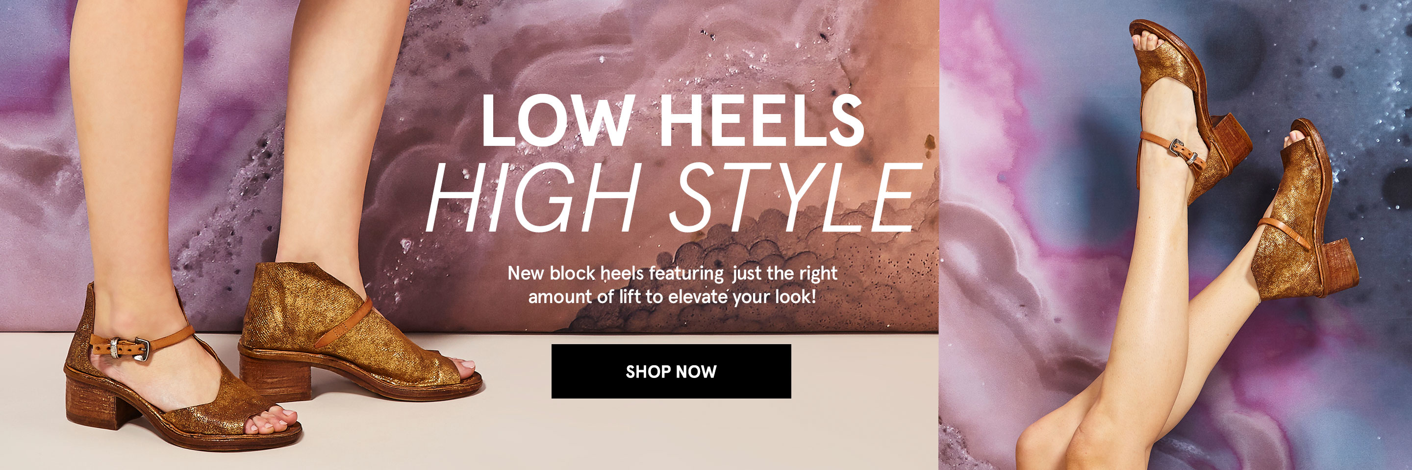 Low Heels, High Style