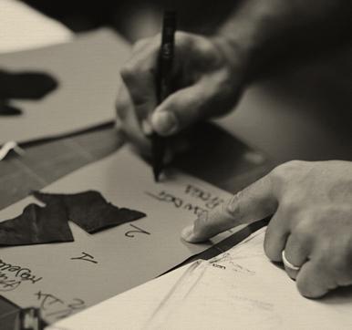 innovative artist, inspired designs
